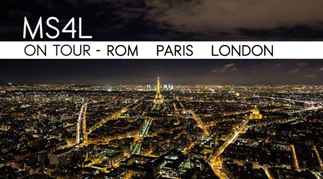 Rom, Paris & London Marathon – MS4L on Tour