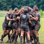 Rugby Tourists Münster Jubel Finale