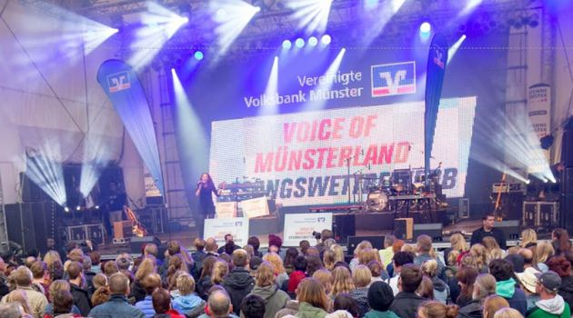 Voice of Münsterland Münster Mittendrin 2017